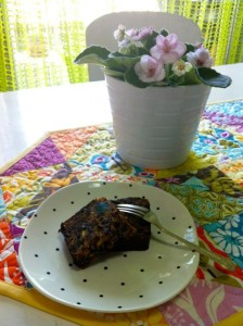 A slice (or two) of heaven - Mum's Awesome Fruit Cake