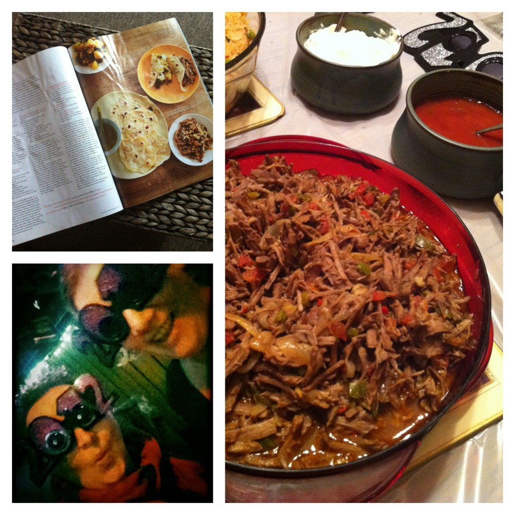 Photo Collage from NYE Mexican Fiesta